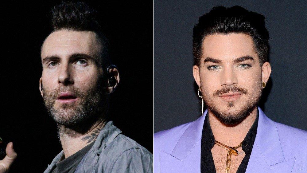 Adam Levine, Adam Lambert