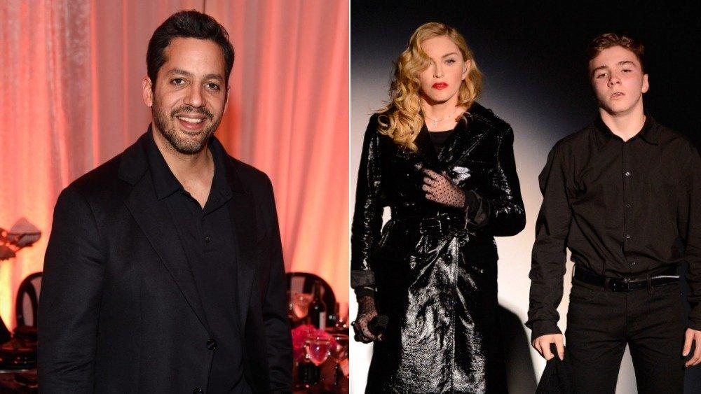 David Blaine, Madonna y Rocco Ritchie se separan