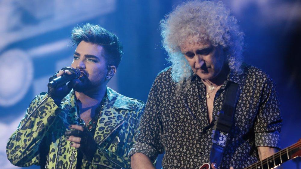Brian May, Adam Lambert y Roger Taylor