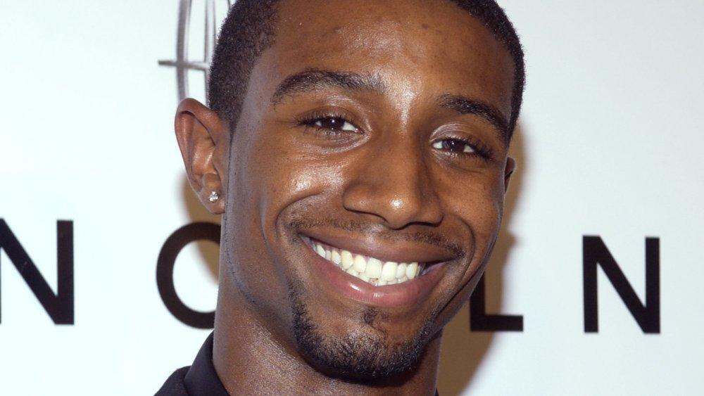 Andre Johnson de cerca, sonriendo