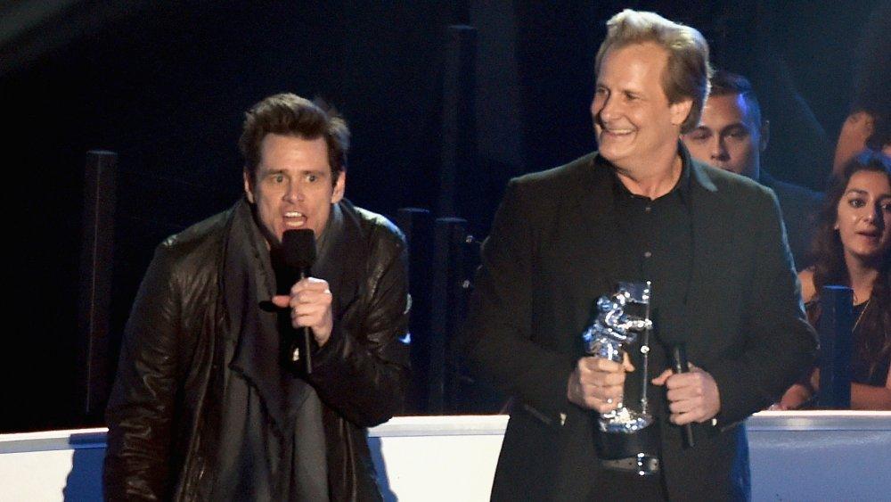 Jim Carrey y Jeff Daniels en los MTV VMA 2014