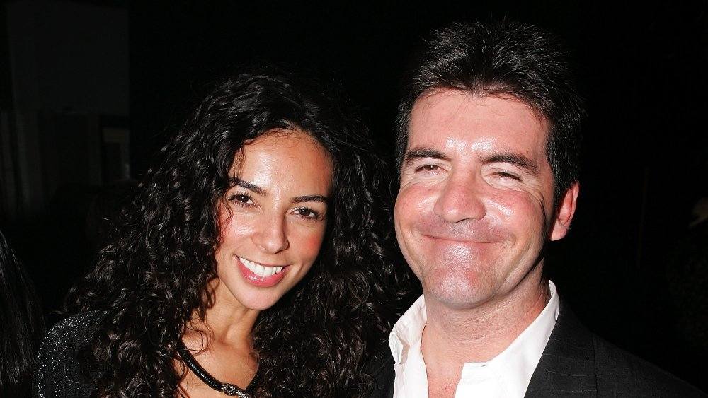 Terri Seymour y Simon Cowell