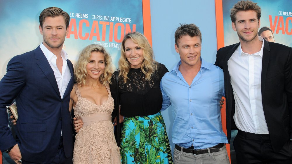 Chris Hemsworth, Elsa Pataky, Samantha Hemsworth, Luke Hemsworth y Liam Hemsworth