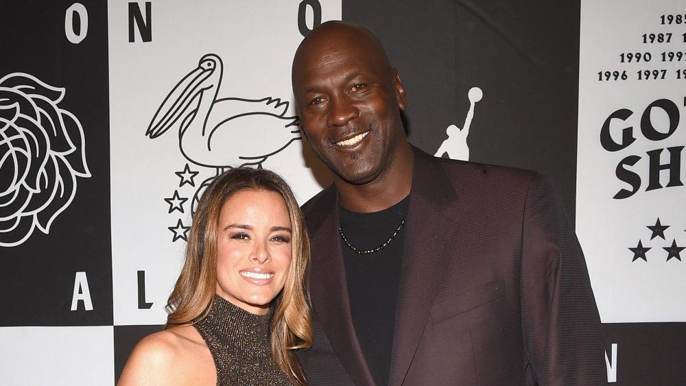 Yvette Prieto y Michael Jordan
