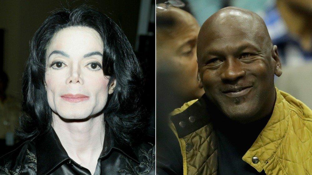 Michael Jackson y Michael Jordan