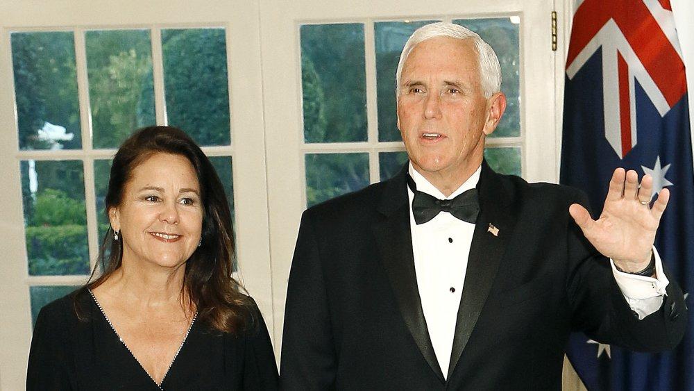 Karen Pence y Mike Pence