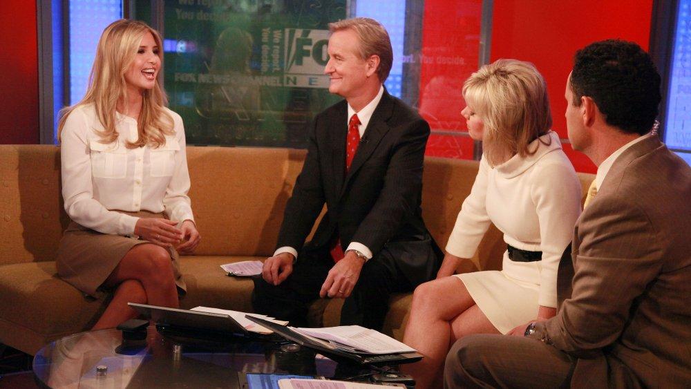 Ivanka Trump siendo entrevistada en Fox & Friends