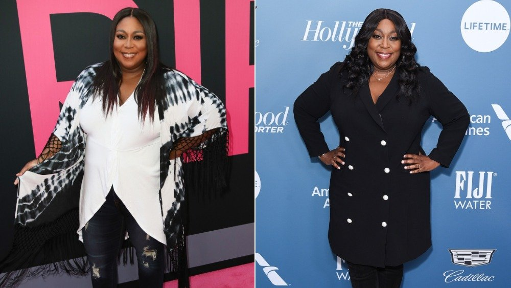Loni Love en el estreno de Girls Trip; Loni Love en el Hollywood Reporter's Power 100 Women in Entertainment