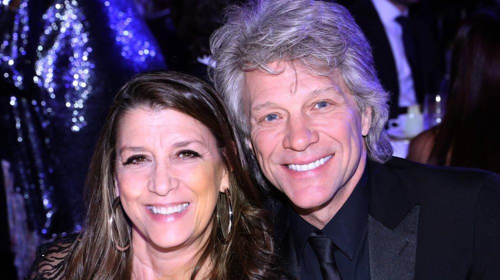 Dorothea Hurley y Jon Bon Jovi