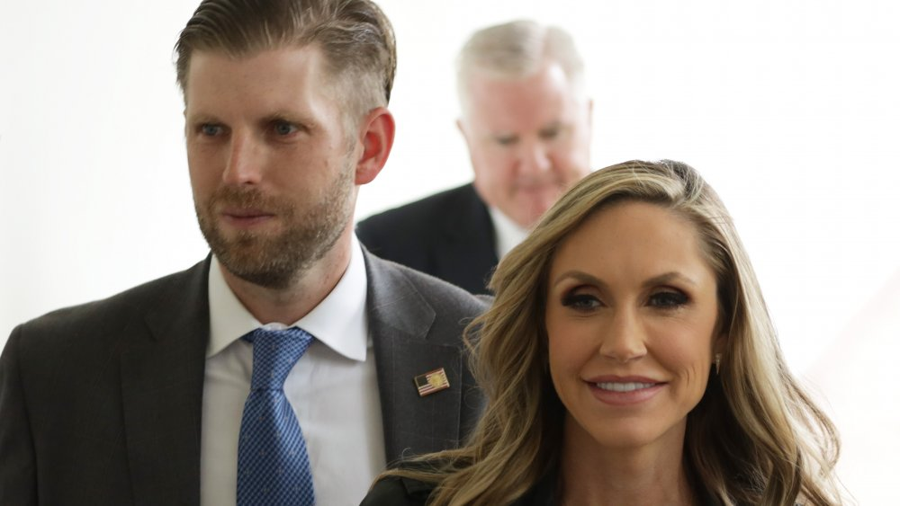 Eric Trump y Lara Trump