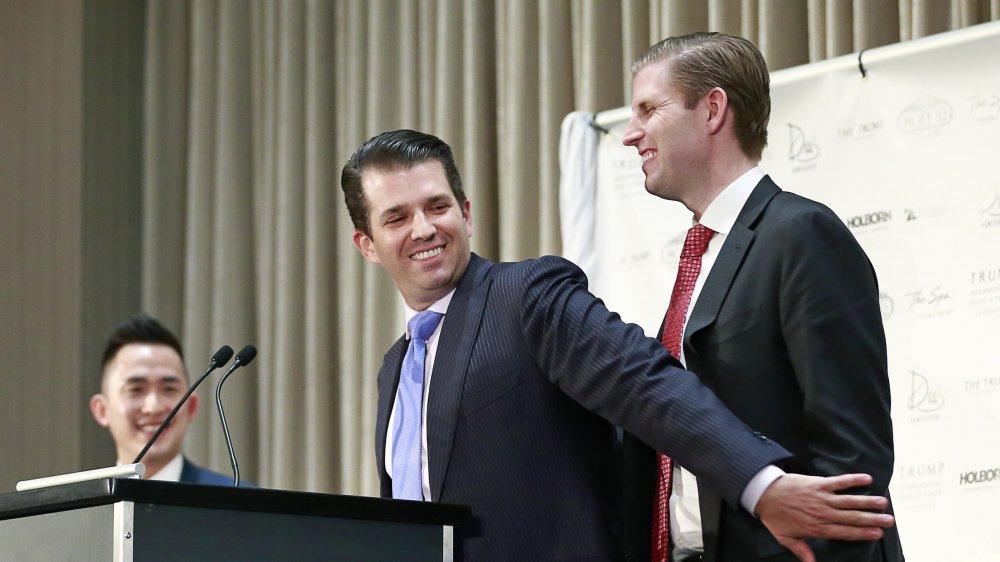 Donald Trump Jr. y Eric Trump