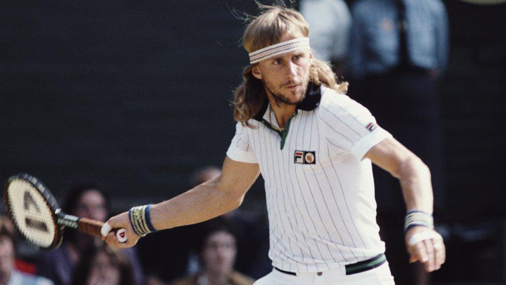 Bjorn Borg en el Campeonato de Tenis de Wimbledon de 1980