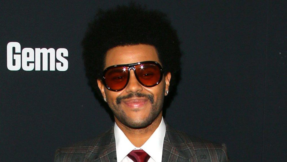 The Weeknd en el estreno de Uncut Gems