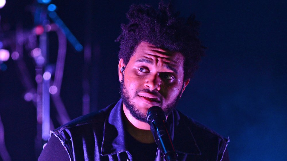 The Weeknd actuando en Revolution en Ft. Lauderdale en 2012