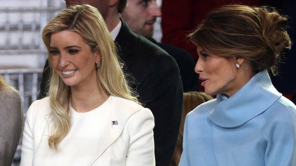 Ivanka y Melania Trump