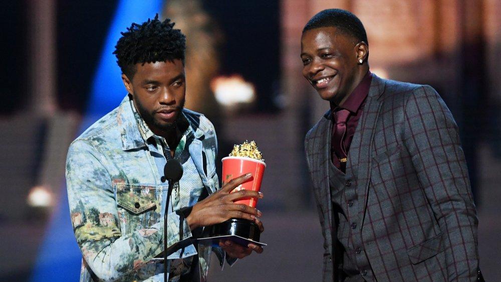 Chadwick Boseman y James Shaw Jr.