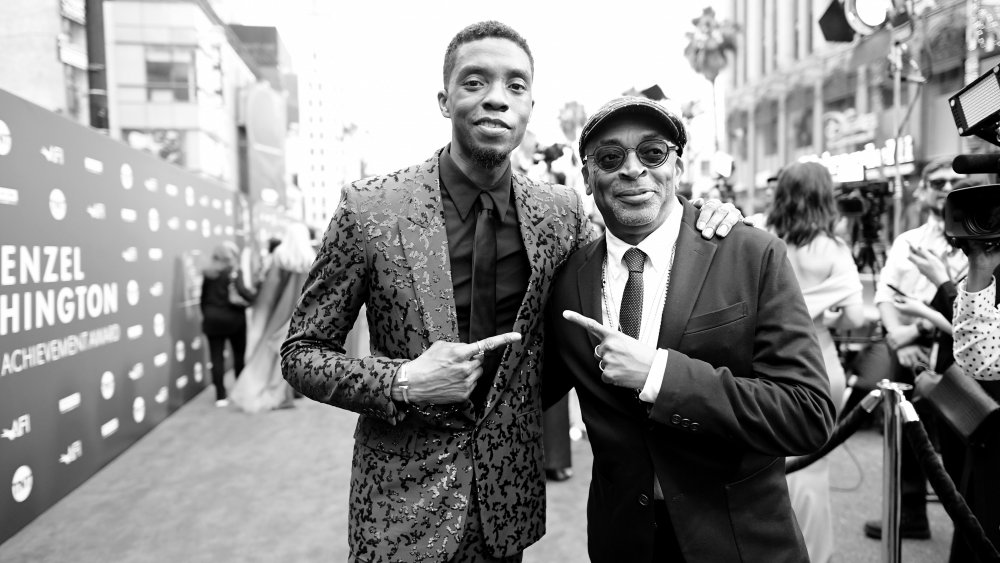 Chadwick Boseman Spike Lee