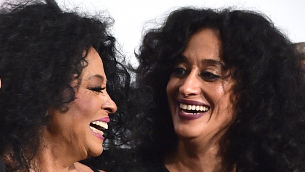 Diana Ross y Tracee Ellis Ross se ríen juntas