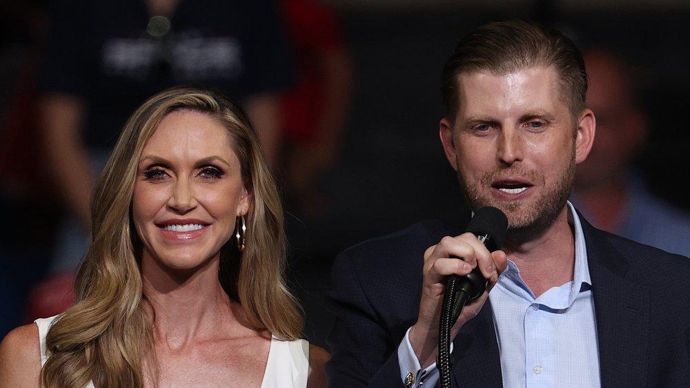 Eric y Lara Trump