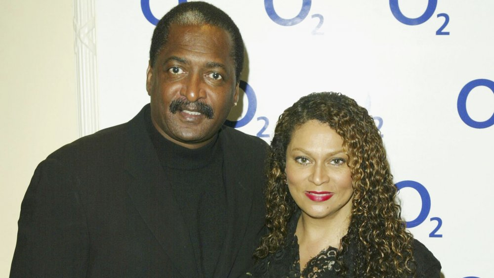 Matthew Knowles y Tina Knowles-Lawson
