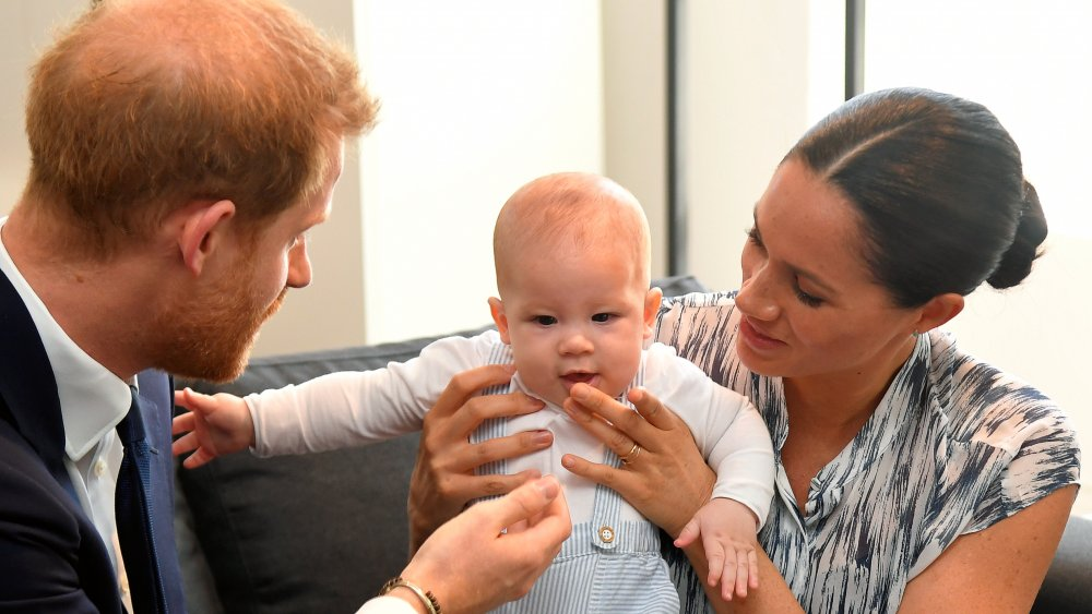 Príncipe Harry, Archie Mountbatten-Windsor, Meghan Markle