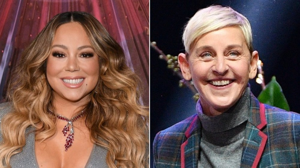 Mariah Carey; Ellen DeGeneres