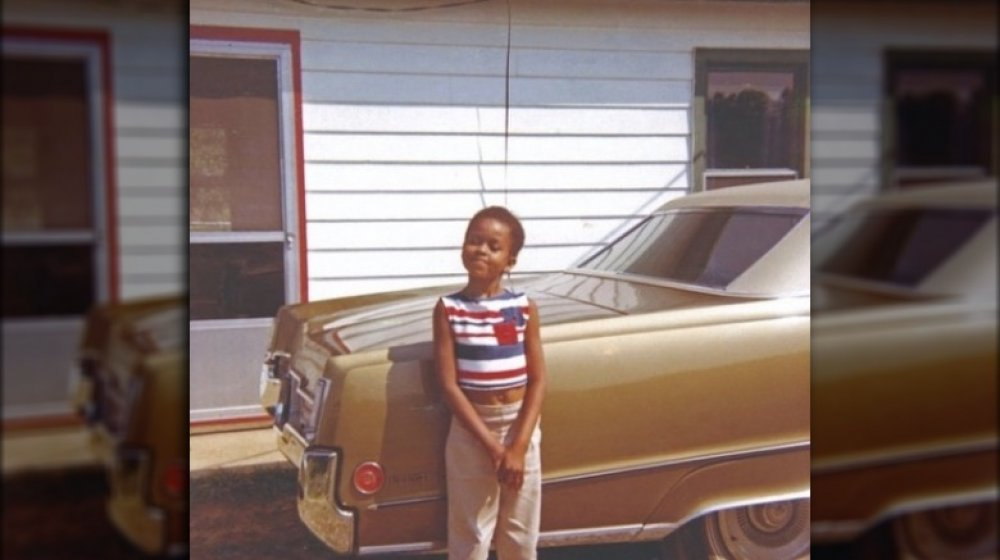 Michelle Obama de niño en una foto de Instagram de retroceso