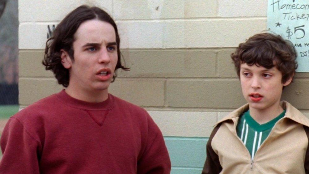 Chauncey Leopardi y John Francis Daley en Freaks and Geeks