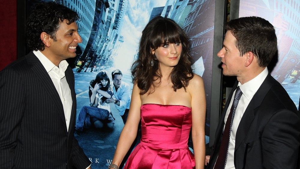 M. Night Shyamalan, Zooey Deschanel, Mark Wahlberg todos hablando