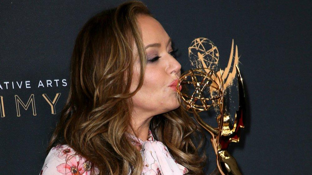 Leah Remini en los Premios Emmy de Artes Creativas 2017
