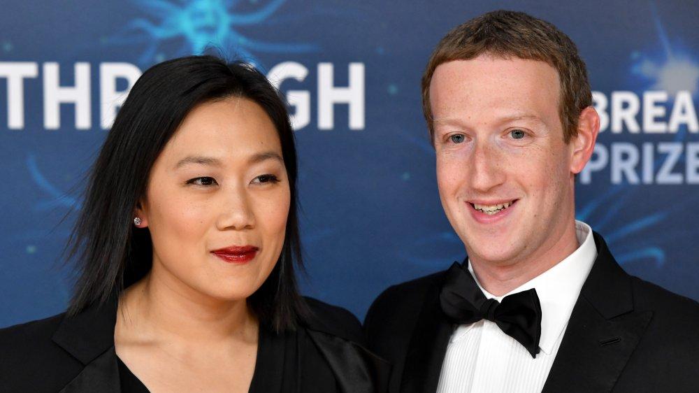 Priscilla Chan & Mark Zuckerberg