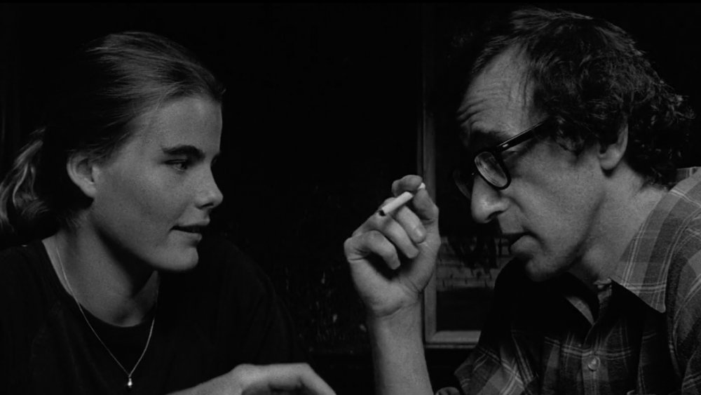 Mariel Hemingway y Woody Allen en Manhattan