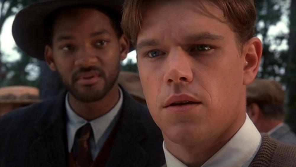 Will Smith y Matt Damon en una escena de Legend of Bagger Vance