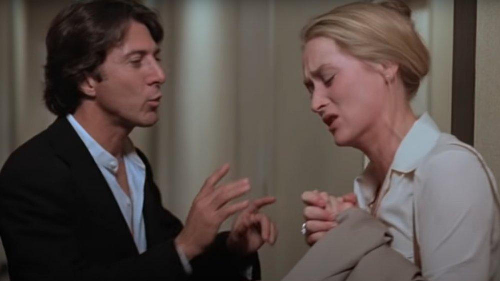 Dustin Hoffman y Meryl Streep en una escena de Kramer vs Kramer