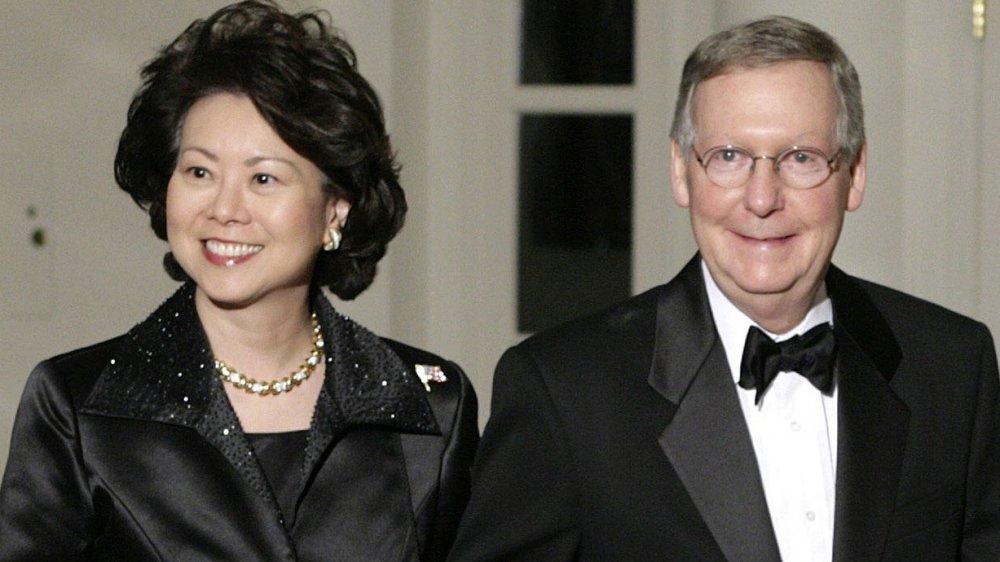 Elaine Chao, Mitch McConnell