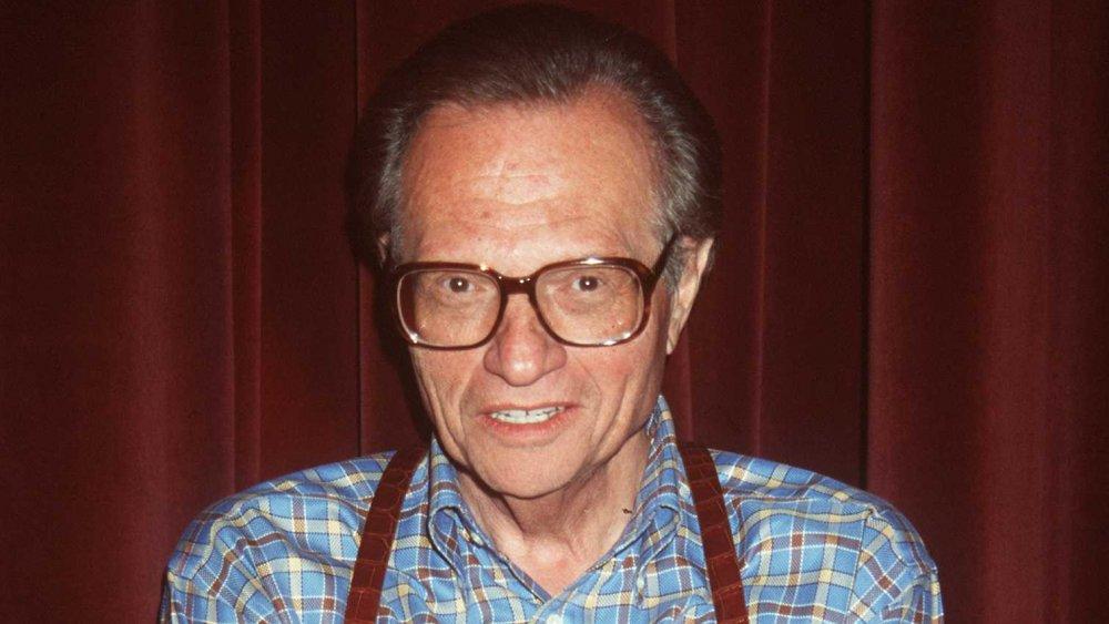 Larry King en el Frailes Club de California en 1998