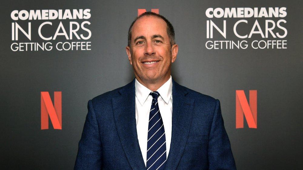 Jerry Seinfeld en el evento LA Tastemaker para Comedians in Cars en 2019
