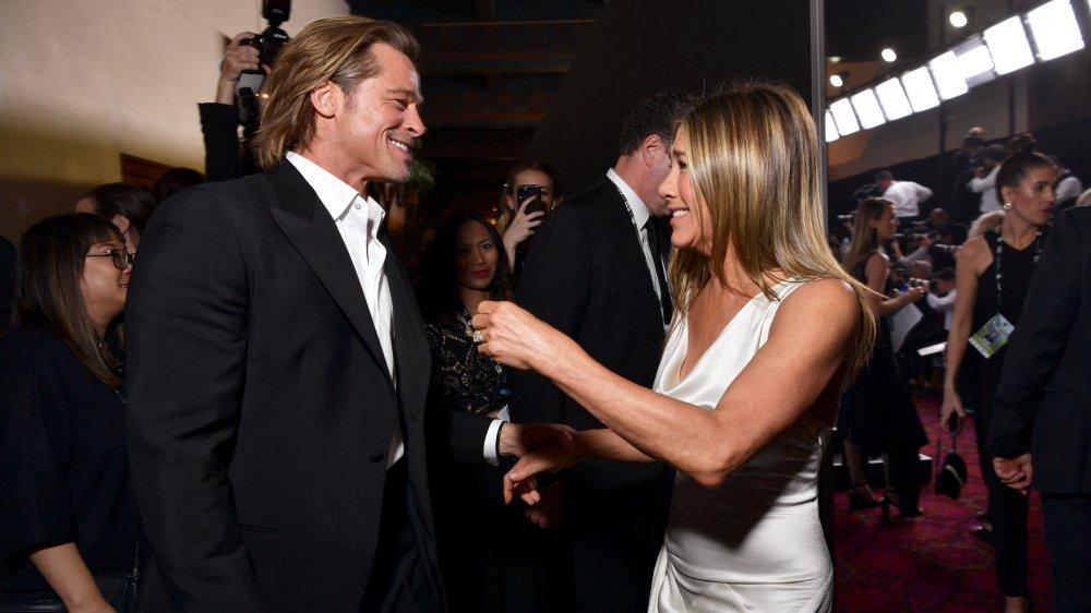 Brad Pitt y Jennifer Aniston en los Premios SAG 2020