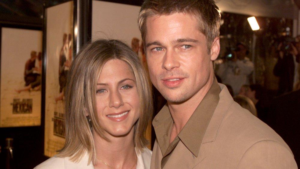 Jennifer Aniston y Brad Pitt posan juntos en el estreno mexicano