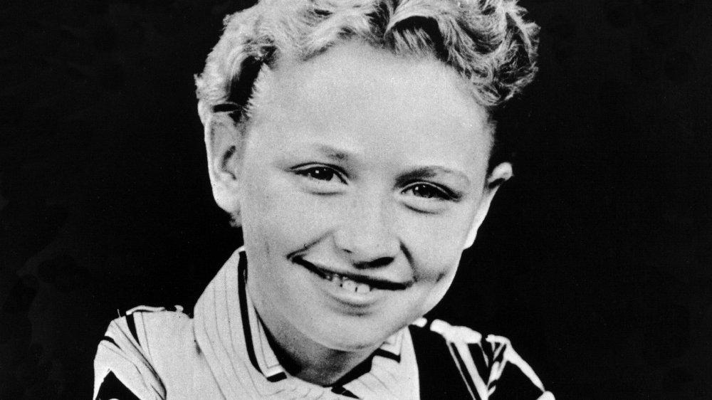 Dolly Parton como una niña
