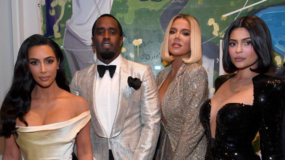 Kim Kardashian, Khloe Kardashian, Kylie Jenner, P. Diddy
