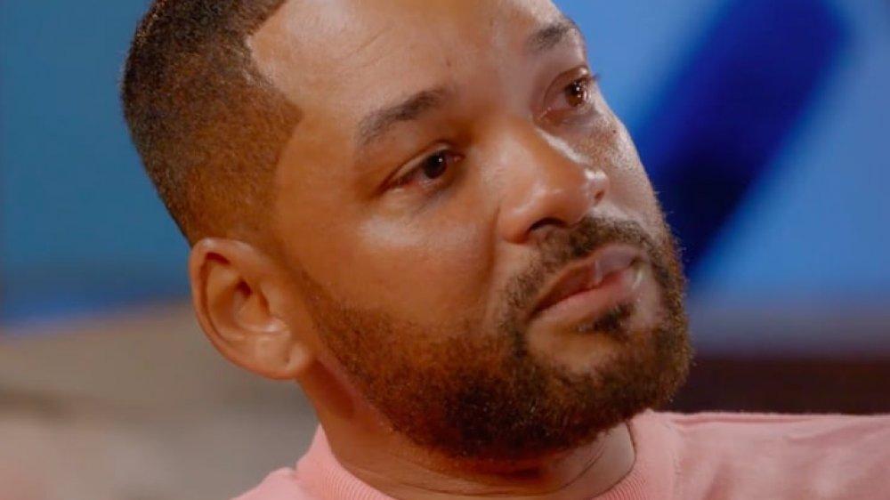Will Smith llorando durante una entrevista de Red Table Talk