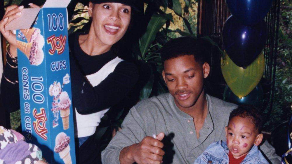 Will Smith con Sheree Zampino en la segunda fiesta de cumpleaños de Trey
