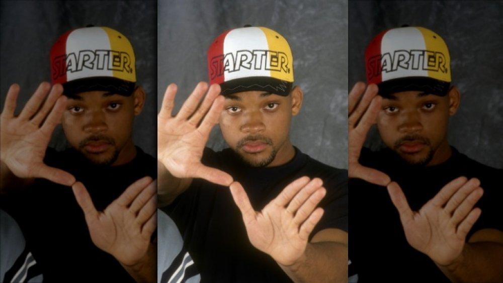 Will Smith posando para una sesión de retratos de 1993