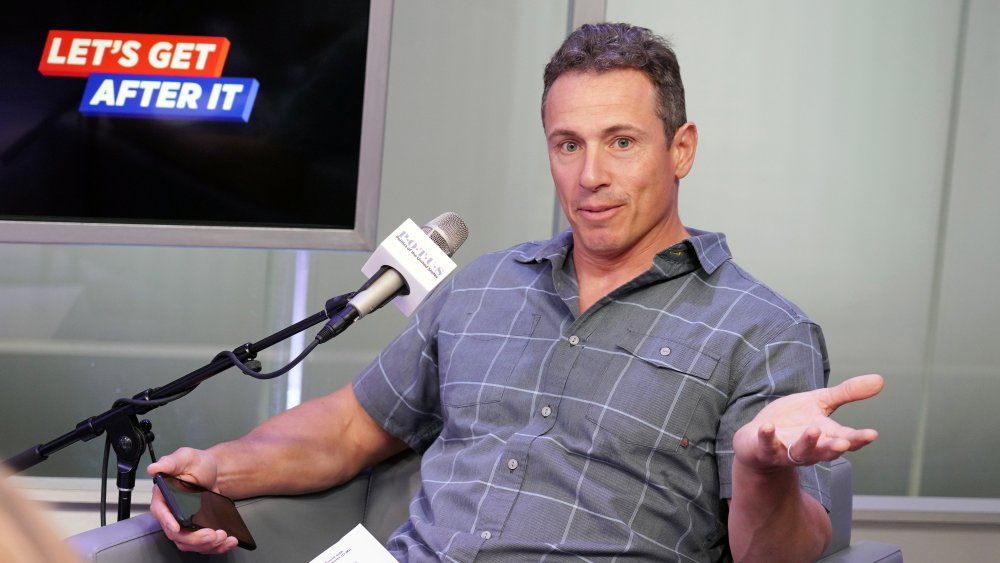 Chris Cuomo en el programa de radio