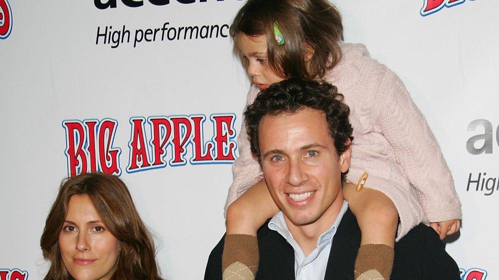Chris Cuomo y su familia