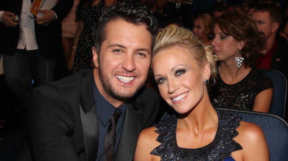 Luke Bryan y Caroline Bryan