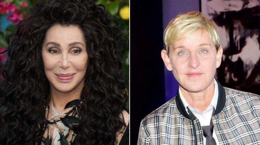Cher y Ellen DeGeneres
