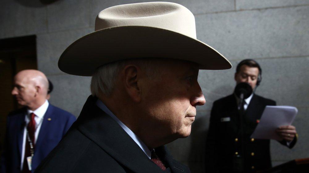 Dick Cheney en la inauguración de Donald Trump en 2017