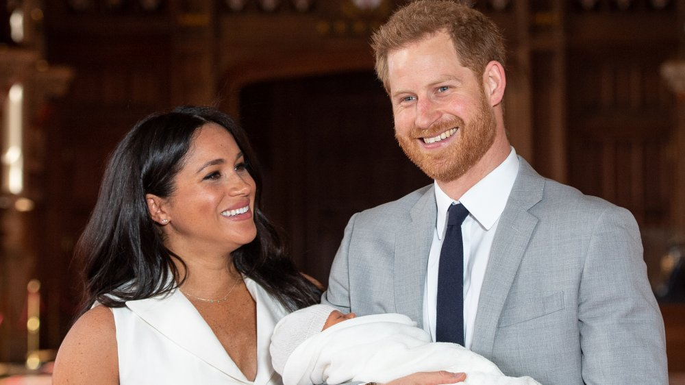 Meghan Markle, Príncipe Harry, Archie